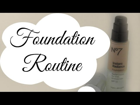 My Current Foundation Routine|Updated