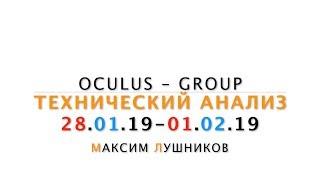 Технический обзор рынка Форекс на неделю: 28.01.19 - 01.02.19 от Максима Лушникова