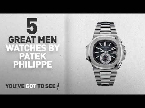 Top 10 Patek Philippe Men Watches [ Winter 2018 ]: Patek Philippe Nautilus Men's Chronograph Watch –