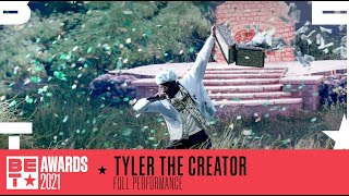 Tyler the Creator Performs 'LUMBERJACK' For His First BET Awards Performance | BET Awards 2021