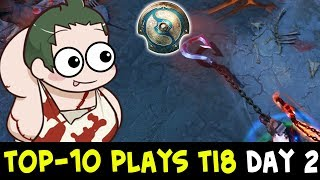 TOP-10 plays of TI8 — main qualifiers Day 2