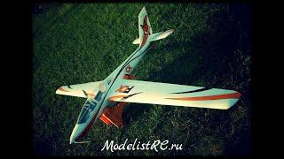 Rc glider FOX fms 3000mm EPO rc plane fpv планер fox