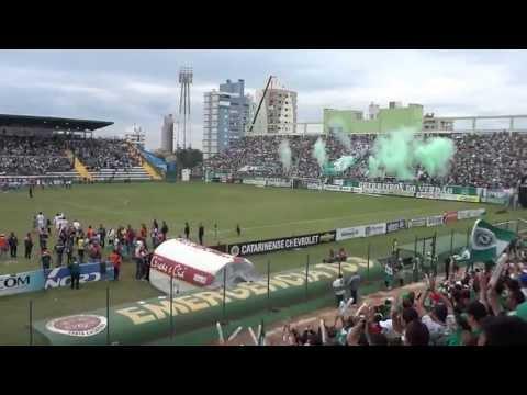 """""""Entrada em Campo Chapecoense x Criciuma estadual 2013"""" Barra: Barra da Chape • Club: Chapecoense"""