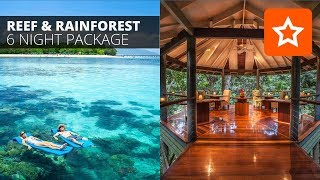 Looking for Great Barrier Reef & Daintree Rainforest holiday packages? We have created the ultimate Reef & Rainforest 6 night package!