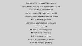 Logic - I Am The Greatest (Lyrics) ORIGINAL