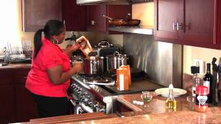 Chicken, Sausage & Seafood Gumbo For The Holidays (Cooking With Carolyn)