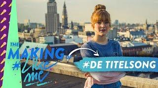 The making of #LikeMe | In de opnamestudio voor de titelsong van #LikeMe