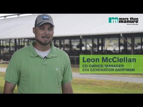 More Than Manure Testimonial - Leon McClellan M&B Dairy