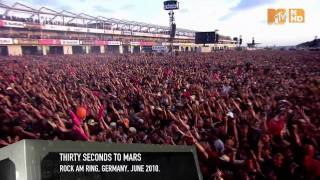 30 Seconds to Mars - Night of the Hunter- Live @ Rock am Ring 2010 - MTV World Stage - True HD
