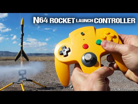 Turn An Old Nintendo 64 Controller Into A Rocket Launching Remote