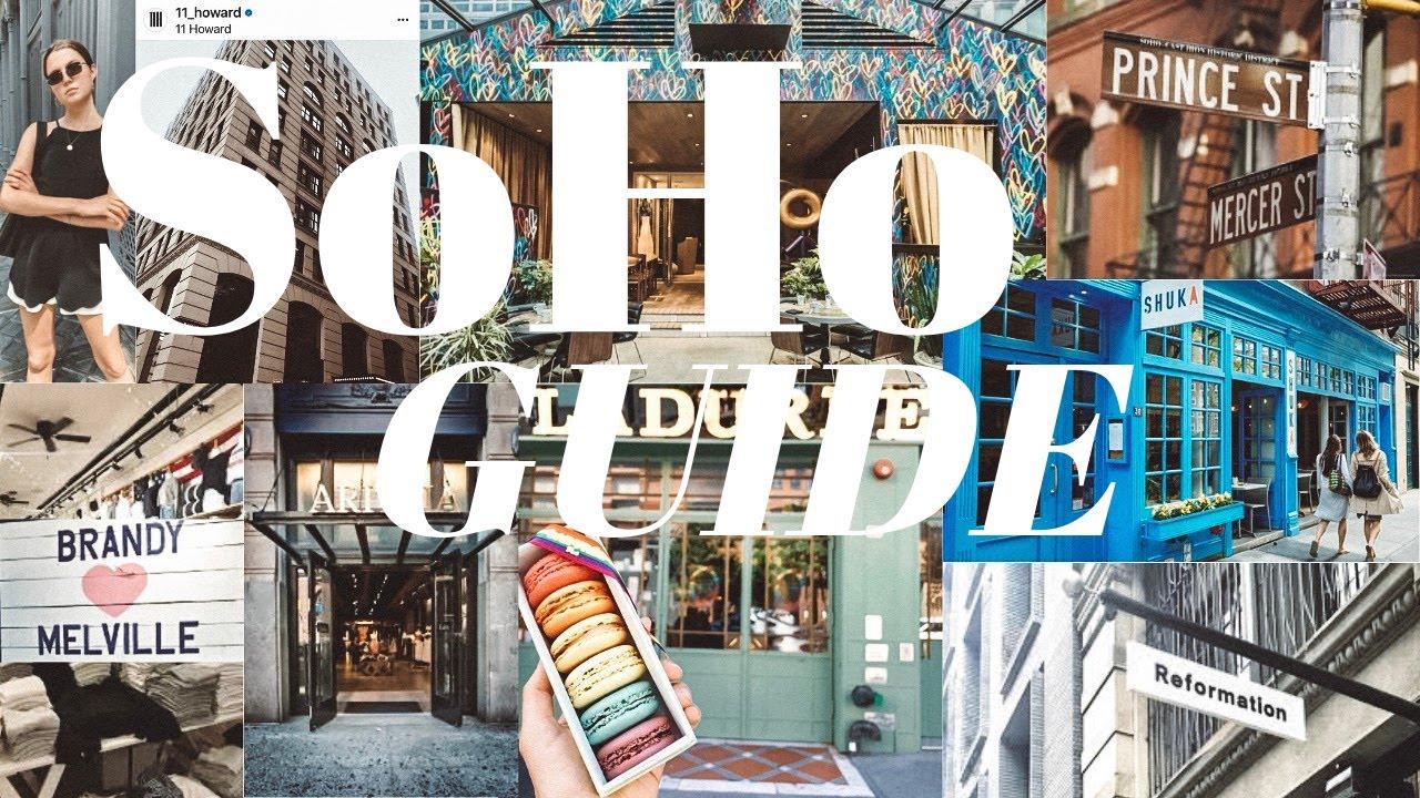 Go Shopping in Soho!