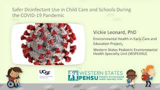 Safer Green Cleaning, Sanitizing, & Disinfection in Childcare Facilities & Schools During COVID-19