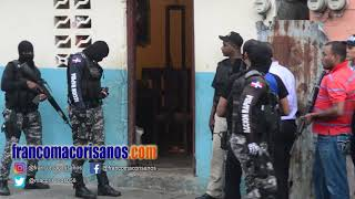 Ultiman Presunto Atracador En Sector San Martín De San Francisco Macorís