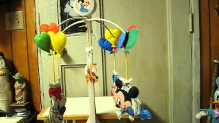 Sale Item Demo - Disney Babies Musical Mobile - 1984 Vintage