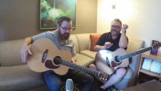 Takamine EF75 Talk With Lance Allen And Tom Watters