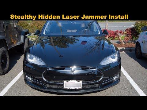 ALP Tx Heads and a Stealthy Hidden Laser Jammer Install