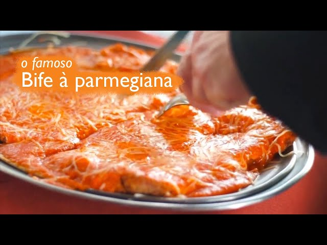 File à Parmegiana - Bar do Alemão (Itú)
