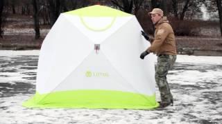 Палатка лотос для зимней рыбалки профессионал