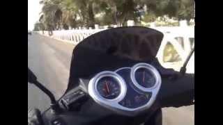 preview picture of video 'Un petit tour avec mon Keeway Outlook 150cc'