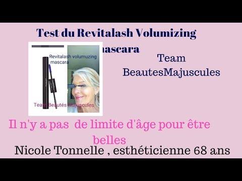 Test  mascara volumizing Revitalash . La teamBeautésMajuscules