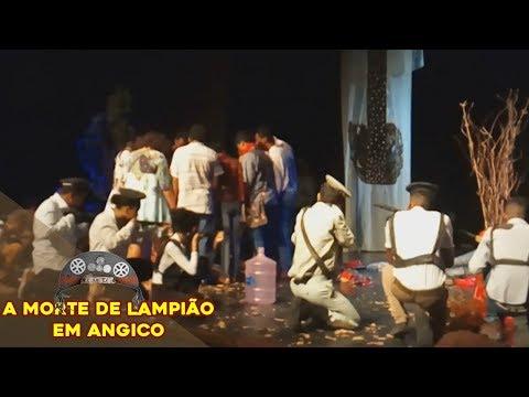 Cena: Morte de Lampião em Angico - Colégio Manoel Ribeiro 2017