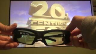 True Depth 3D® Firestorm XL DLP-LINK Rechargeable 3D Glasses SteadySync