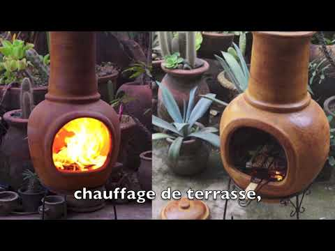 braseros mexicains barbecues four a pizza chaufage terrasse