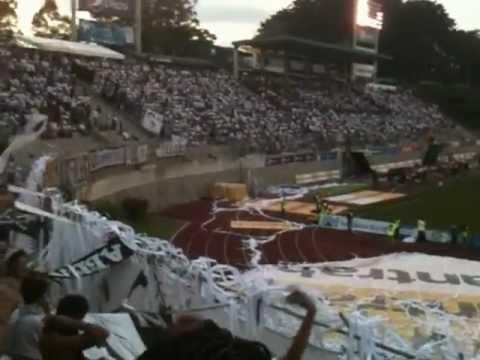"""""""Queremos la copa"""" Barra: Vltra Svr • Club: Comunicaciones"""