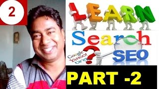 Learn SEO - Search Engine Optimization for Blog/Website !! Tutorial - 2