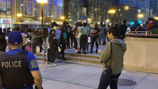 Teens Go Wild Through Downtown Chicago Part 1