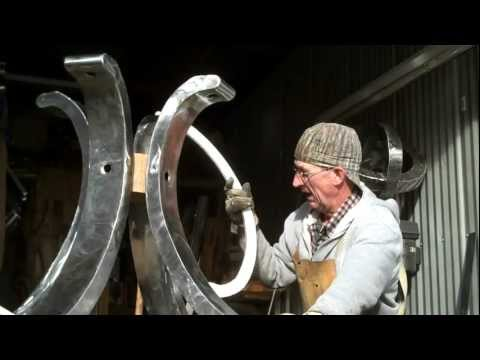 Welding Custom Furniture by Artisan Mitchell Dillman