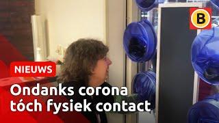 Opgelost: knuffelen tijdens corona   Omroep Brabant