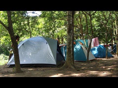 Já pensou em acampar em Lumiar?