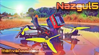 Nazgul5 - RAW gopro session5- EIS on & NO filter #nazgul5 #fpvaddiction #fpvfreestyle