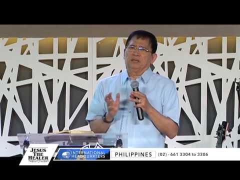 The Most Important Blessing Needed By Man From God | Bro. Eddie C. Villanueva