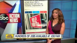 Hundreds Of Jobs At Career Fair On Tuesday