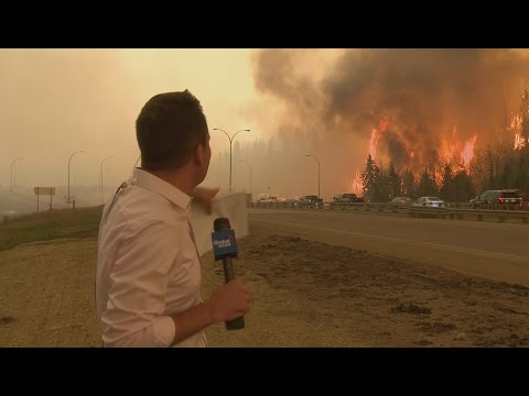Fire in Fort McMurray