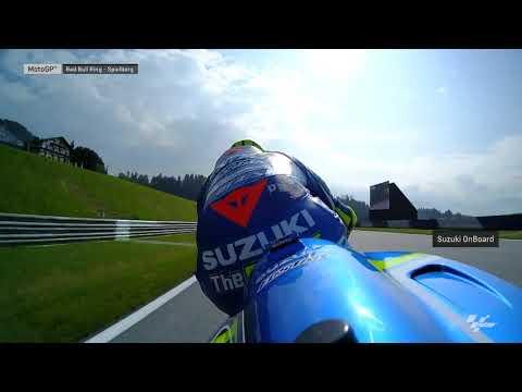Austrian GP: Suzuki OnBoard