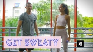 Nick Jonas Teaches Us How to Box and Talk to Girls in Get Sweaty with Emily Oberg | Complex