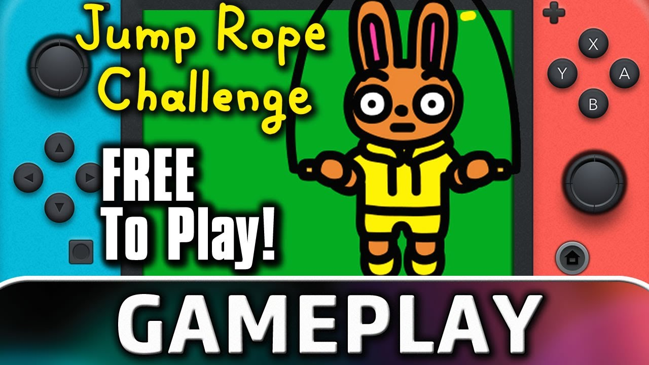 Jump Rope Challenge   Nintendo Switch Gameplay (Free-To-Play by Nintendo)