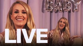 Carrie Underwood Announces Pregnancy + The Trews In Studio | ET Canada LIVE