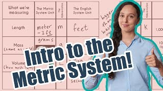 What is the Metric System? For Beginners!