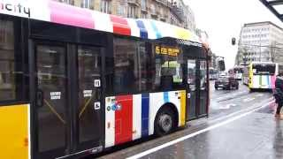 preview picture of video 'Luxembourg City Buses 15 January 2015'