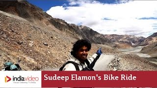 Sudeep Elamon's Bike Ride to the Mighty Himalayas