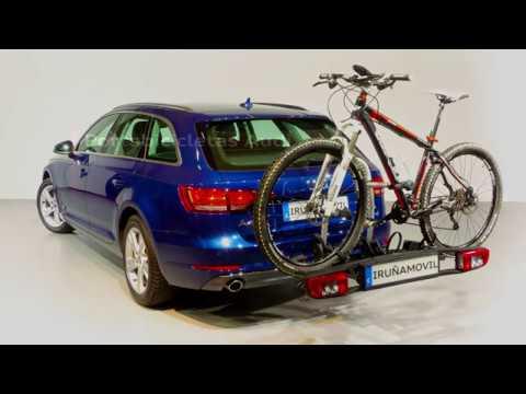 2017 Portabicicletas Audi para enganche de remolque - Iruñamovil