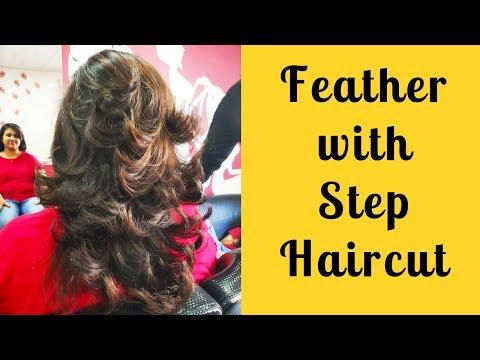 Feather With Step Haircut 2018 Step Haircut For Haircut Tutorials