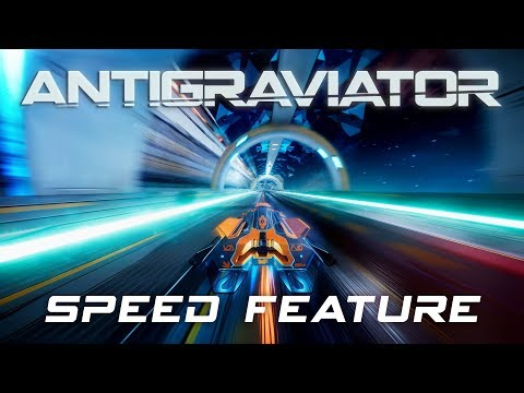 Antigraviator - Speed Feature Video: How fast can you go? thumbnail