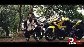 Bajaj Pulsar RS 200 vs Pulsar 220 DTSI Review - The New Fastest Indian | PowerDrift