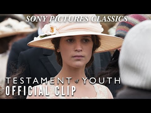 Testament of Youth Clip 'No More Fear'