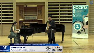 TAEYEONG JEONG plays Lamento et Rondó by Pierre Sancan